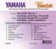 Romantic Tenors - Carreras, Domingo, Pavarotti - Piano Software