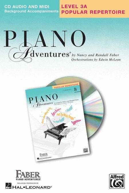Piano Adventures Level 3A - Popular Repertoire CD