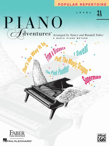 Piano Adventures Level 3A - Popular Repertoire Book