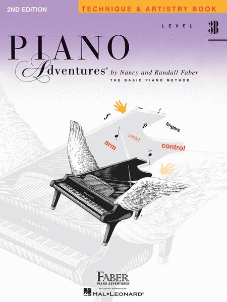 Piano Adventures Level 3B - Technique & Artistry Book