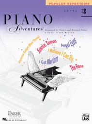 Piano Adventures Level 3B - Popular Repertoire Book
