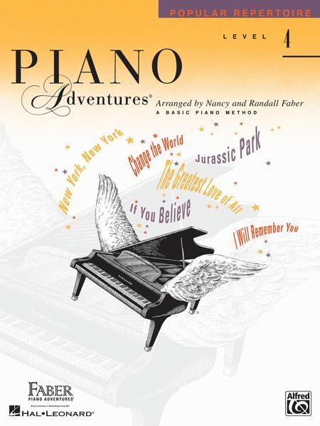 Piano Adventures Level 4 - Popular Repertoire Book