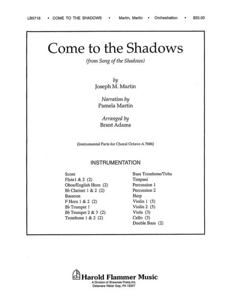 Come to the Shadows (from Song of the Shadows)