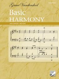 Basic Harmony Answer Book, 2nd Edition