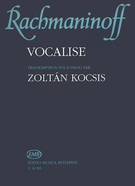 Vocalise Op.34, No. 14