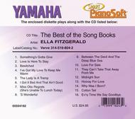 Ella Fitzgerald - The Best of the Song Books - Piano Software