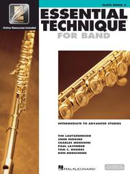 Essential Technique for Band - Intermediate to Advanced Studies (Flute)