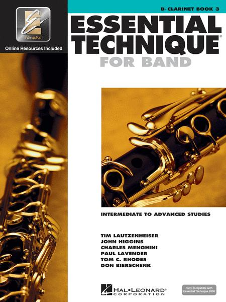 Essential Technique for Band - Intermediate to Advanced Studies (Clarinet)