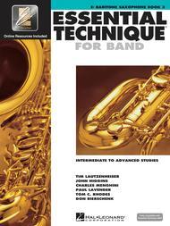 Essential Technique for Band - Intermediate to Advanced Studies (Baritone Saxophone)