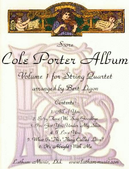 Cole Porter Album: Volume 1 for String Quartet