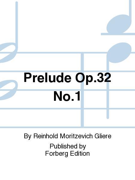 Prelude Op. 32 No. 1