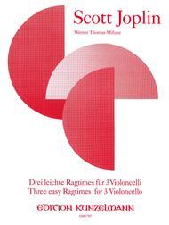 Three Easy Ragtimes