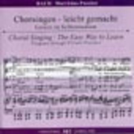 St. Matthew Passion - Choral Singing CD (Alto)
