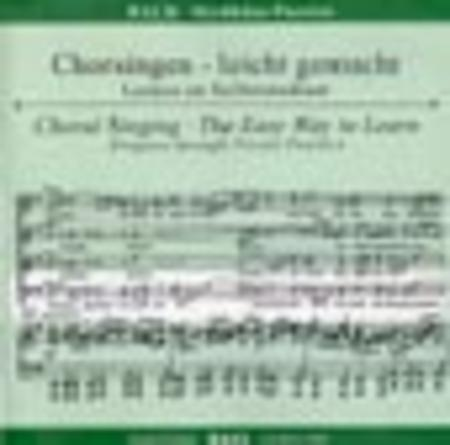 St. Matthew Passion - Choral Singing CD (Bass)