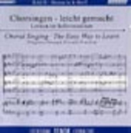 Mass in B Minor - Choral Singing CD (Tenor)