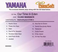 10,000 Maniacs - Our Time in Eden - Piano Software
