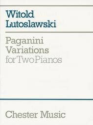 Paganini Variations for Two Pianos