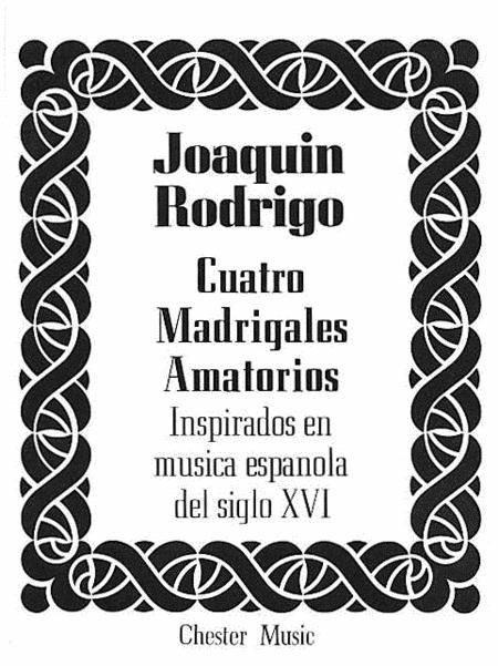 Cuatro Madrigales Amatorios