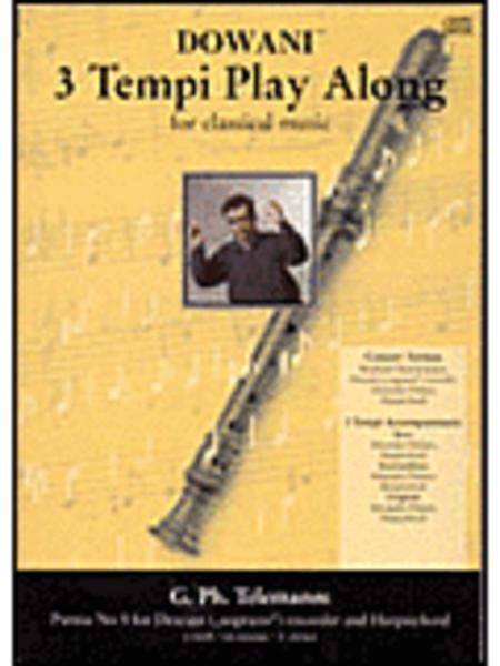 Telemann - Partita No. 5 in E Minor for Descant (Soprano) Recorder and Harpsichord