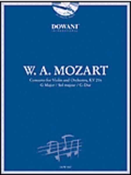 Mozart: Concerto for Violin and Orchestra KV 216 in G Major