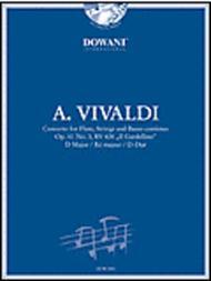 Vivaldi - Concerto in D for Flute, Strings and Basso Continuo Op. 10 No. 3, RV 428 Il Gardellino