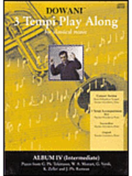 Album Vol. IV (Intermediate) for Trumpet in Bb and Piano