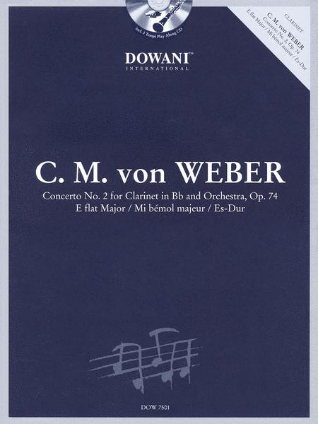 Concerto No. 2 for Clarinet in Bb and Orchestra