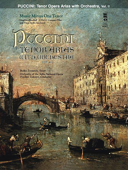 Puccini Arias for Tenor and Orchestra - Vol. II
