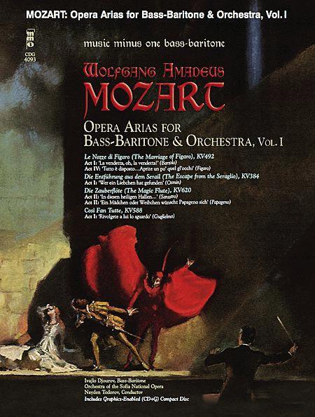 Mozart Opera Arias for Bass Baritone and Orchestra - Vol. I