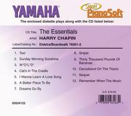 Harry Chapin - The Essentials - Piano Software