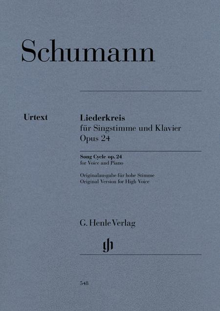 Song Cycle (Liederkreis) Op. 24