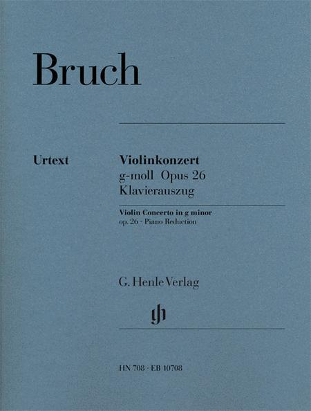 Violin Concerto g minor op. 26