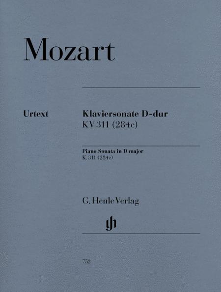 Piano Sonata D major KV 311 (284c)
