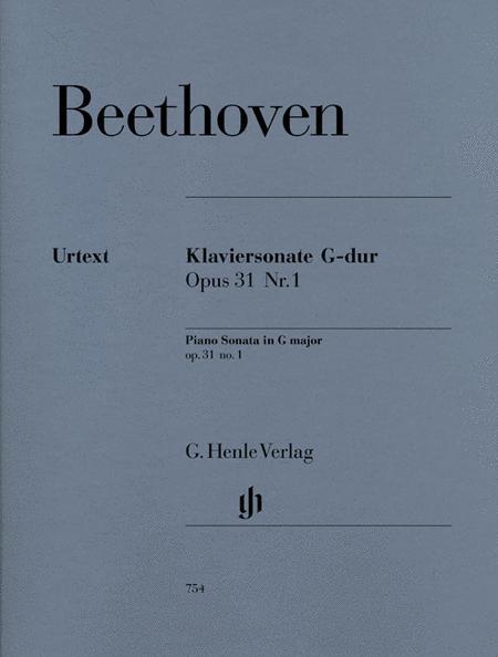 Piano Sonata G major op. 31/1
