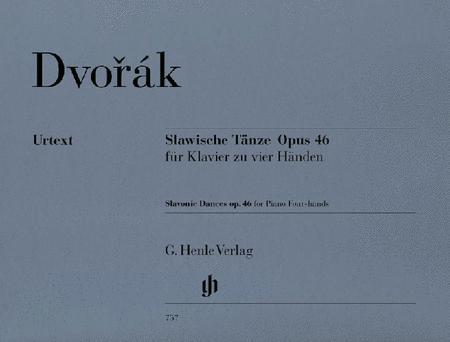 Slavonic Dances Op. 46 for Piano Four-hands