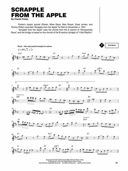 Buy Sheet Music Charlie Parker