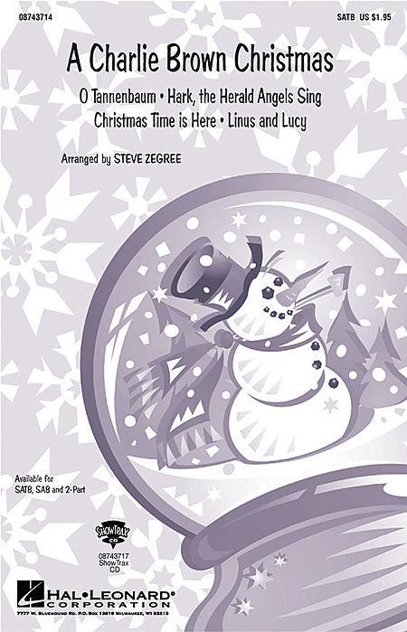 A Charlie Brown Christmas (Medley) - ShowTrax CD