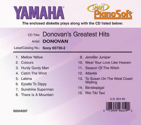 Donovan's Greatest Hits - Piano Software