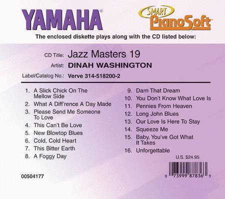 Dinah Washington - Jazz Masters 19 - Piano Software