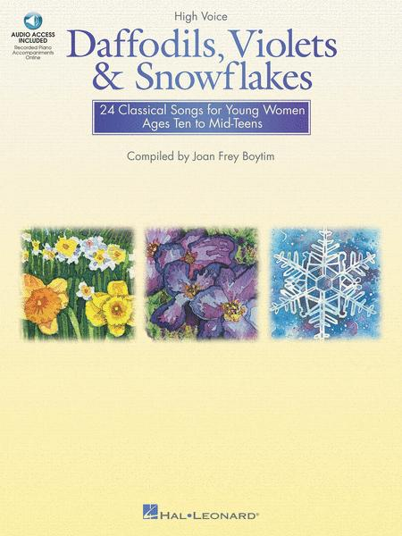 Daffodils, Violets and Snowflakes - High Voice