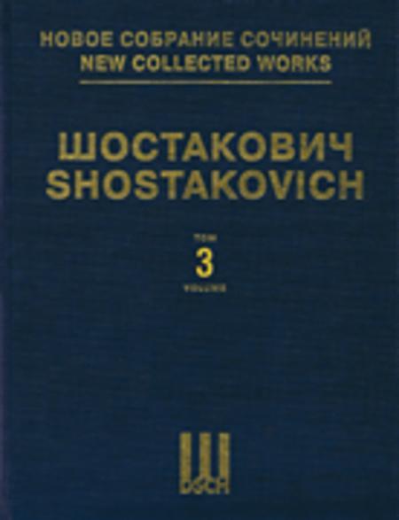 Symphony No. 3, Op. 20 & Unfinished Symphony of 1934