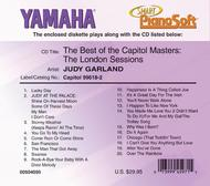 Judy Garland - The Best of the Capitol Masters: The London Sessions - Piano Software