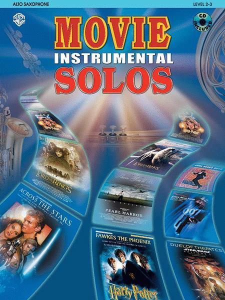 Movie Instrumental Solos - Alto Sax (Book and CD)