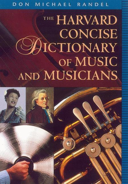 Harvard Concise Dictionary of Music and Musicians