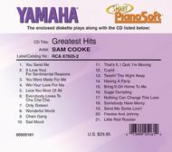 Sam Cooke - Greatest Hits - Piano Software