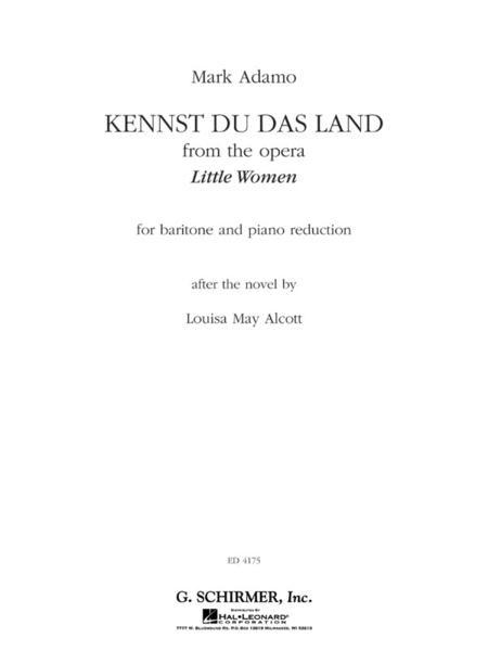 Kennst Du Das Land (from the Opera Little Women)