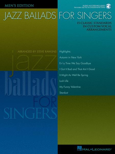 Jazz Ballads for Singers - Men's Edition