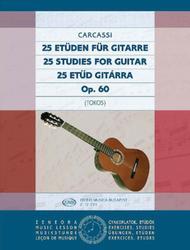 25 Etuden fur Gitarre op. 60
