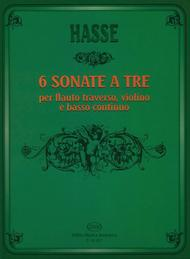 Six Triosonate per Flauto Traverso, Violino e Continuo