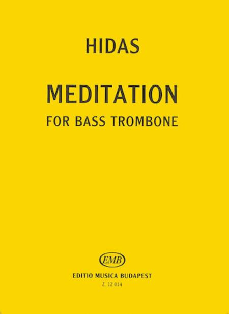 Meditation for Bass Trombone Solo